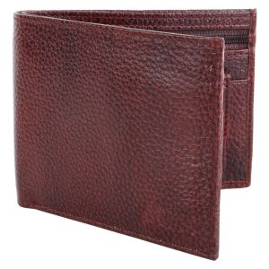 Men's Genuine Leather Wallet TAN AI-14 (Brown)