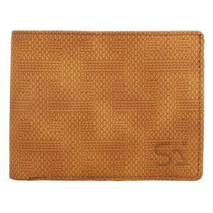 Tan Men's PU Leather Wallet AI-23