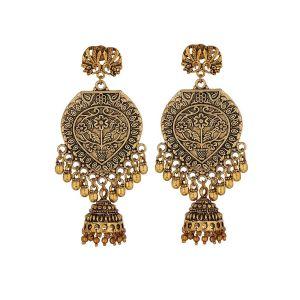Mali fionna earrings Gold for girls & women trendy Earring
