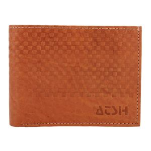 Men's Genuine Leather Wallet TAN AI-18 (TAN)  B07JFN6Y
