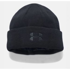 Under Armour Tac Stealth Knit Beanie (Black)