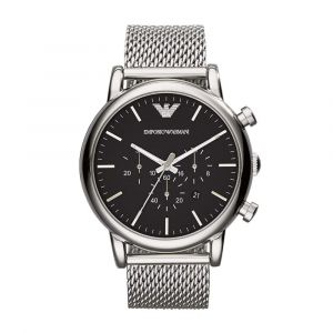Emporio Armani Analog Black Dial Men's Watch-AR1808