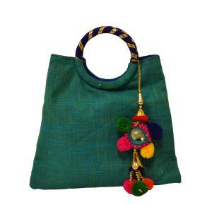 meSleep Trquiose Blue Bangle Bag