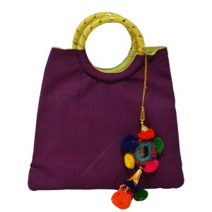 meSleep Purple Bangle Bag