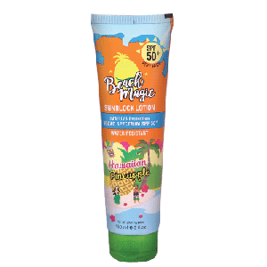 COSMO BEACH MAGIC HAWAIIAN PINEAPPLE SUNCREEN LOTION 150ML  (COSMO SERIES)
