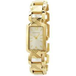 Burberry Gold-Tone Stainless Steel Ladies Watch BU4213