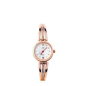 Chain Strap Stainless Diamond Golden Wrist Watch