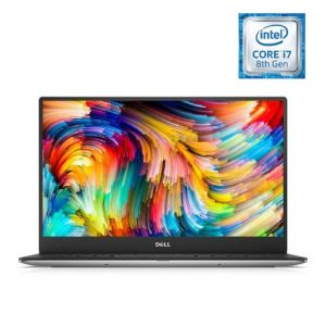 Dell XPS 13 Laptop – Core i7 1.8GHz 16GB 512GB Shared Win10Pro 13.3inch UHD Silver