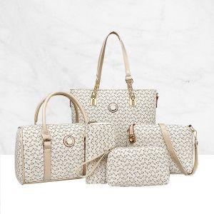 Five Pieces Best Selling Luxury Handbag Set Summer Season