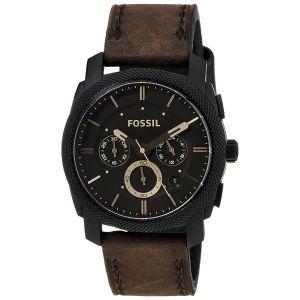 Fossil Machine Analog Black Dial Men's Watch-FS4656