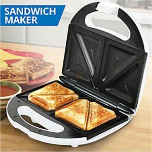 HE-House 2 Slices Home Sandwich Maker - Black