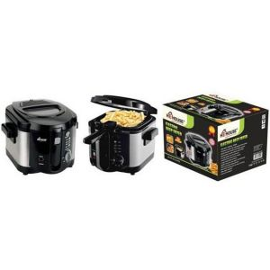 HE-House 5 Liter Deep Fryer, Black