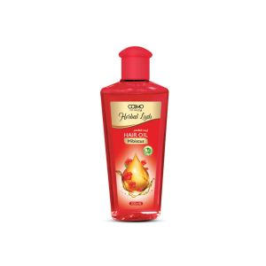 COSMO HERBAL LUSH 200ML HAIR OIL HIBISCUS  (COSMO SERIES)