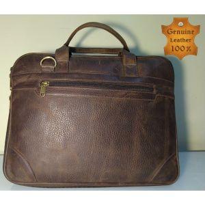 Genuine LEATHER  Laptop Messenger Bag for Men-UMB-SL-04