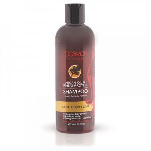 COSMO ARGAN OIL & WHEAT PROTEIN SHAMPOO 480ML (COSMO SERIES)