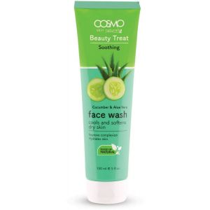 COSMO CUCUMBER & ALOE VERA FACE WASH 150ML  (COSMO SERIES)