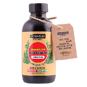 COSMO CORNELLS WELLNESS JAMAICAN BLACK CASTOR OIL ORIGINAL 120ML  (COSMO SERIES)