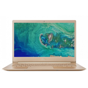 Acer Swift 5 SF514-52TP-82AD Laptop NX.H0CEM.003 - Intel Core i7-8550U, 14-Inch FHD, 512GB SSD, 16GB, English-Arabic Keyboard, Windows 10 Pro, Gold