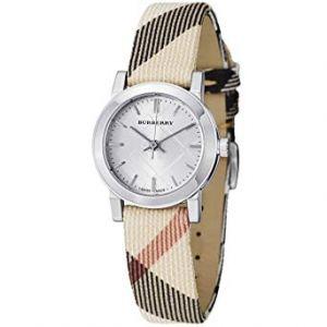 Burberry Women's BU9212 Large Check Nova Check Strap Watch
