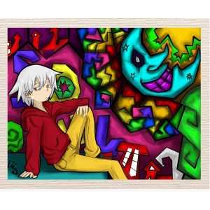 meSleep Canvas without frame - Jocker Boy pcvs-01-0060