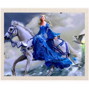 meSleep Canvas without frame - Lady Horse pcvs-01-0062