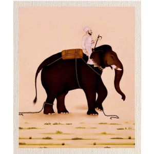 meSleep Canvas without frame - Elephant pcvs-01-0071