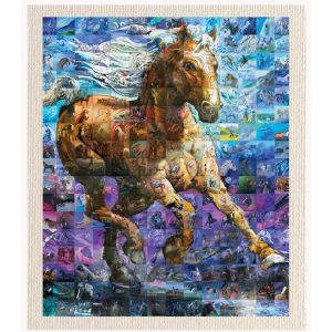 meSleep Canvas without frame - Horse pcvs-01-0073