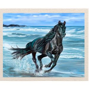meSleep Canvas without frame - Horse pcvs-01-0077