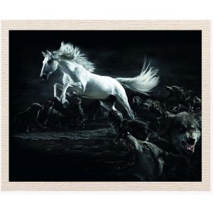 meSleep Canvas without frame - Black Houre pcvs-01-0083
