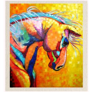 meSleep Canvas without frame -Yellow Horse pcvs-01-0100