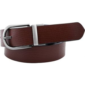 Pontos Men Casual Multicolor Genuine Leather Reversible Belt PONTOS_007_42W