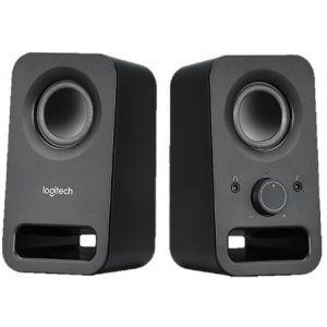 Logitech® Z150 Multimedia Speakers - MIDNIGHT BLACK - 3.5 MM - UK