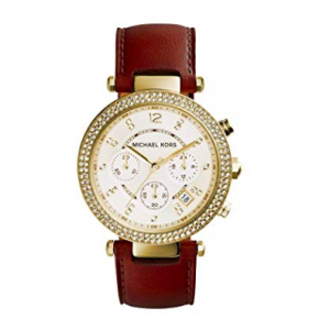 Michael Kors Women's Parker Gold-Tone Watch MK2249