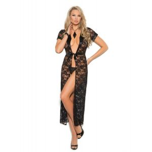 Black Night Gown For Women