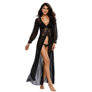 Full Sleeves Night Gown For Women