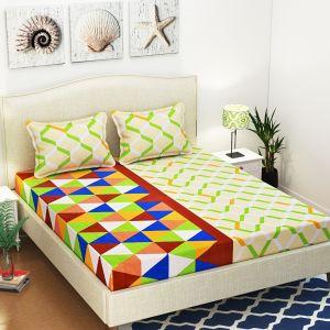 AB Décor Cotton Double Bed Sheet Set SHOP-ABD-BSP-01