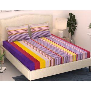 AB Décor Cotton Double Bed Sheet Set SHOP-ABD-BSP-02