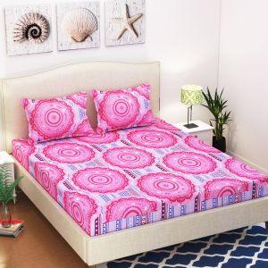 AB Décor Cotton Double Bed Sheet Set SHOP-ABD-BSP-03