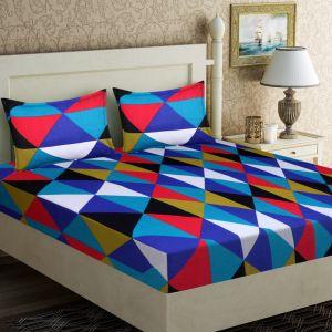 AB Décor Cotton Double Bed Sheet Set SHOP-ABD-BSP-04