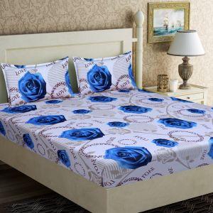 AB Décor Cotton Double Bed Sheet Set SHOP-ABD-BSP-05
