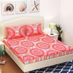 AB Décor Cotton Double Bed Sheet Set SHOP-ABD-BSP-06