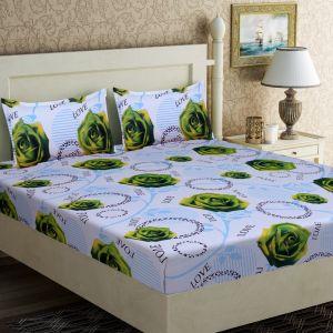 AB Décor Cotton Double Bed Sheet Set SHOP-ABD-BSP-07