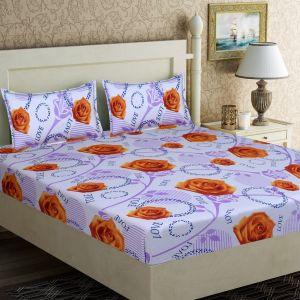 AB Décor Cotton Double Bed Sheet Set SHOP-ABD-BSP-08