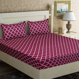 AB Décor Cotton Double Bed Sheet Set SHOP-ABD-BSP-09
