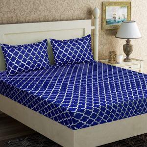 AB Décor Cotton Double Bed Sheet Set SHOP-ABD-BSP-10