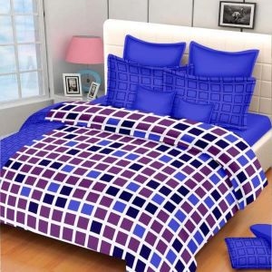AB Décor Cotton Double Bed Sheet Set SHOP-ABD-BSP-11