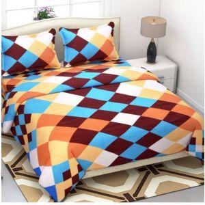 AB Décor Cotton Double Bed Sheet Set SHOP-ABD-BSP-12