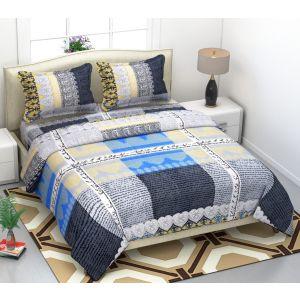 AB Décor Cotton Double Bed Sheet Set SHOP-ABD-BSP-15