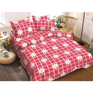AB Décor Cotton Double Bed Sheet Set SHOP-ABD-BSP-16