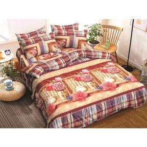 AB Décor Cotton Double Bed Sheet Set SHOP-ABD-BSP-22